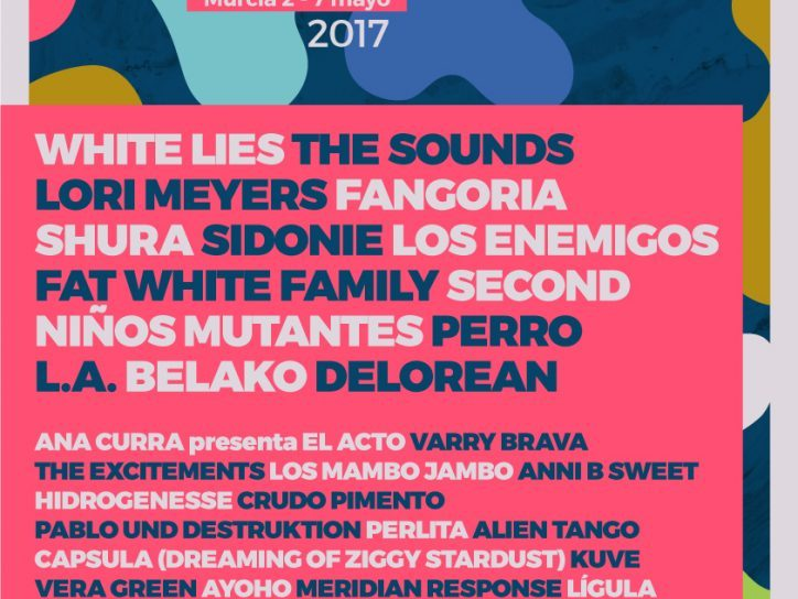 Wam festival: la parte baja del cartel