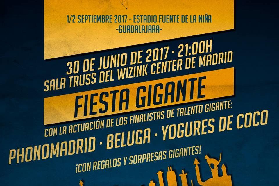 ¡Festival Gigante desvelará su último nombre en una fiesta Gigante!
