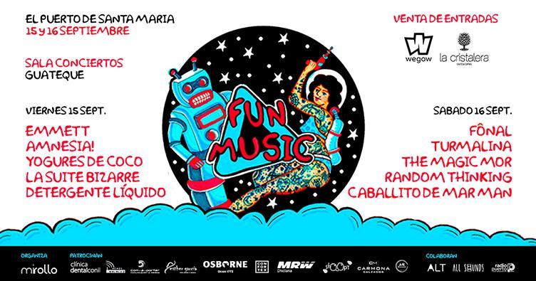 FUN MUSIC Festival se acerca a Cádiz