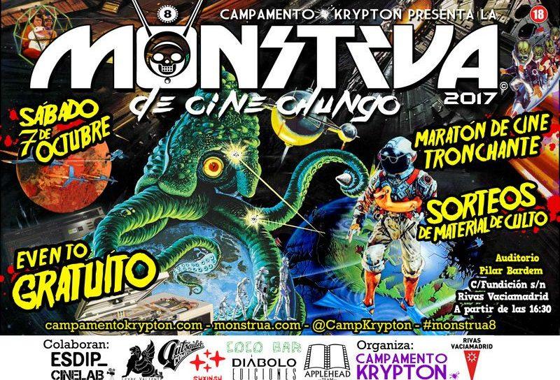 Octava edición de la Monstrua de Cine Chungo