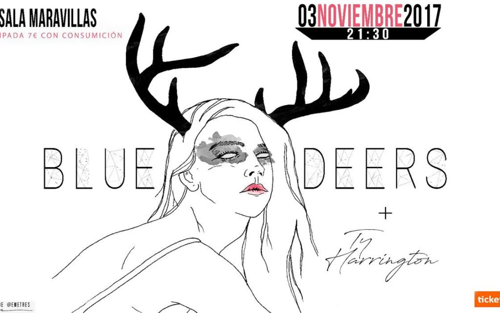 Blue Deers estrenan EP junto a Ty Harrington
