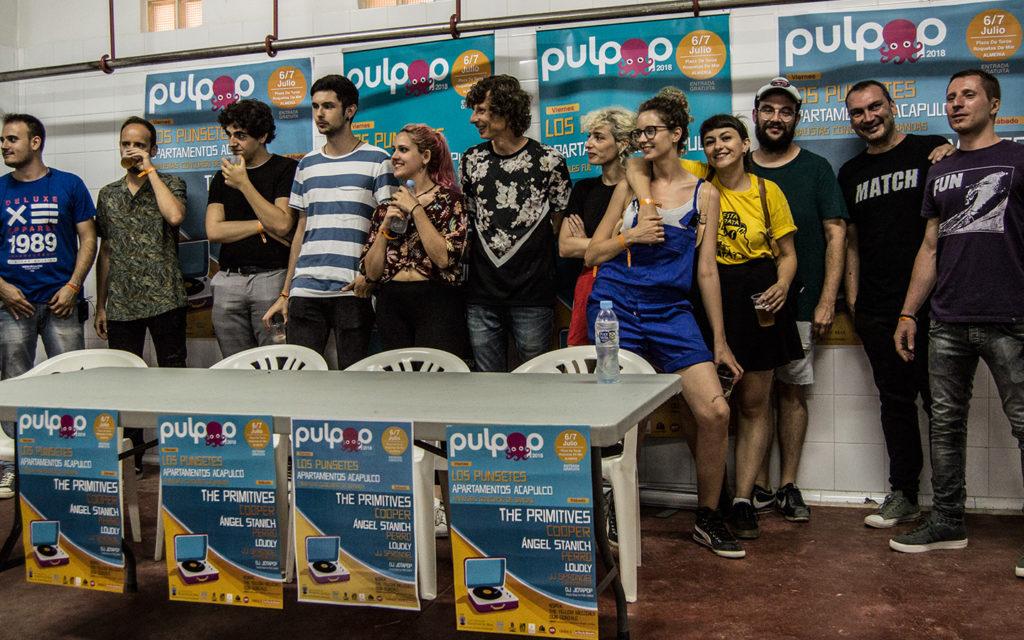 Rueda de prensa Pulpop - Fotografía: Eva Sanabria