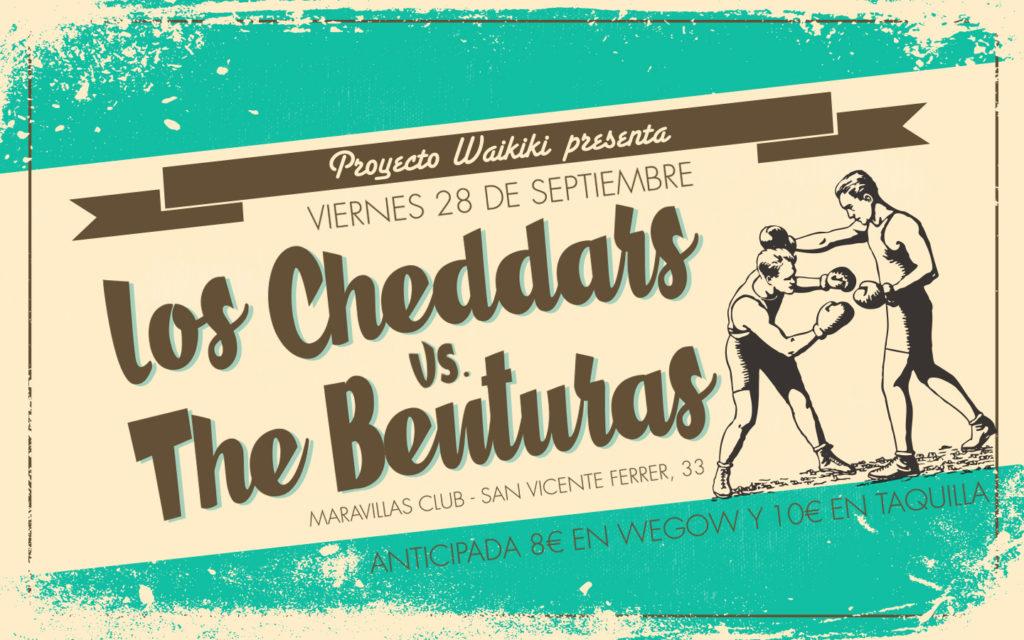 ¡Proyecto Waikiki vuelve con Los Cheddars y The Benturas!