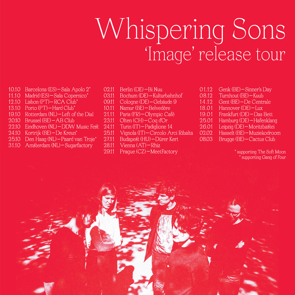 Whispering Sons - Image tour