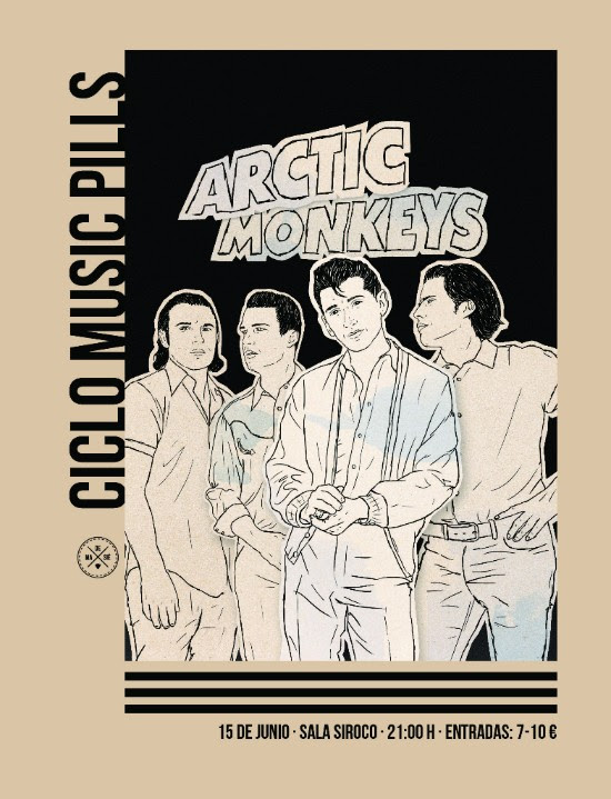 Arctic Monkeys Music Pill