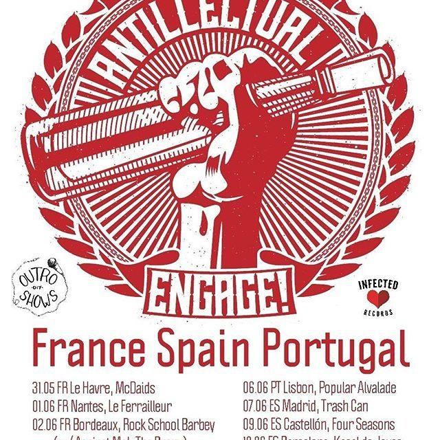 Antillectual visitarán España en junio