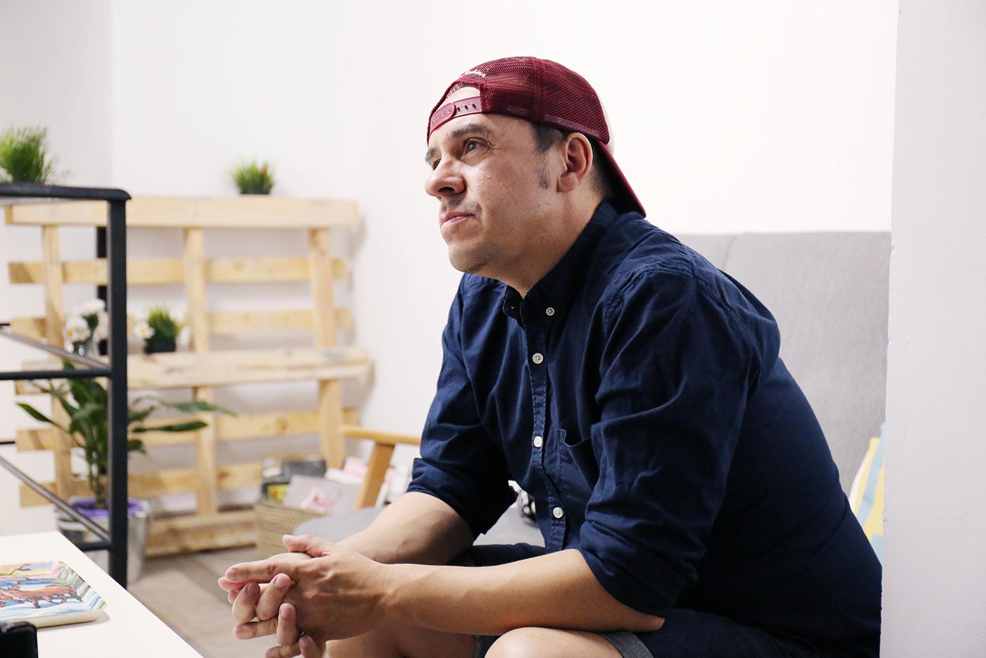 Luis Brea - Fotografía: Almudena Ávila