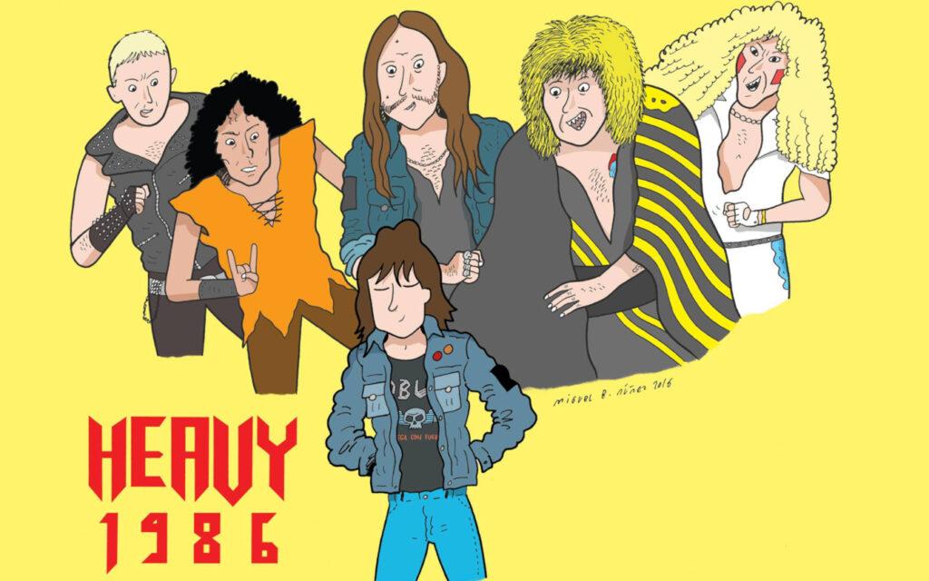 La sensibilidad rockera de Heavy 1986