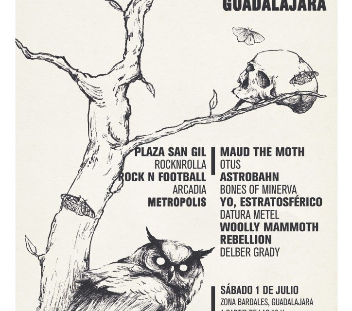 Nooirax Sounds All-Dayer te cita en Guadalajara