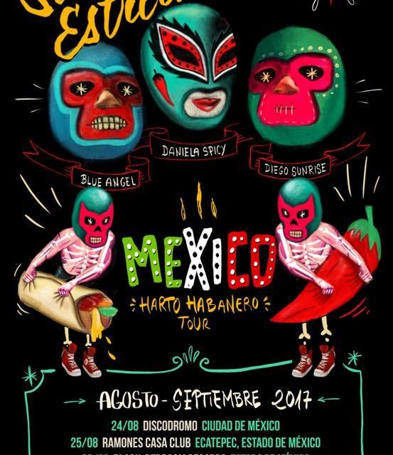 Las Señoritas Estrechas, rumbo a México
