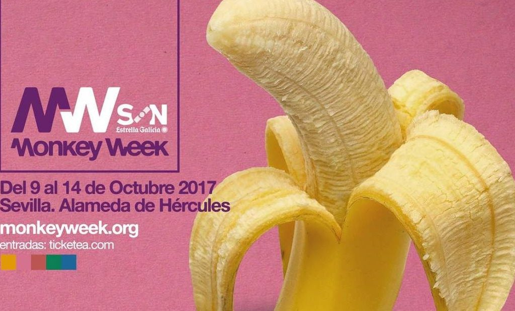Monkey Week 2017: cartel local. Parte II
