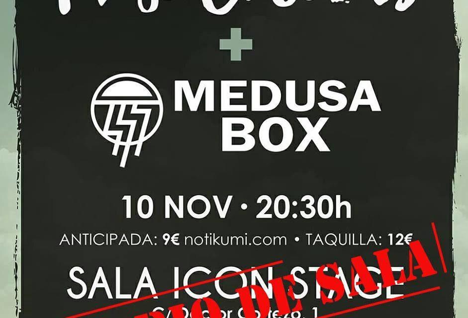 Medusa Box, hits en directo