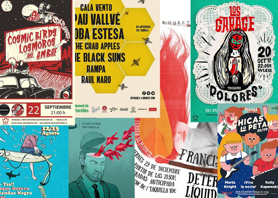 Los diez mejores carteles de 2017