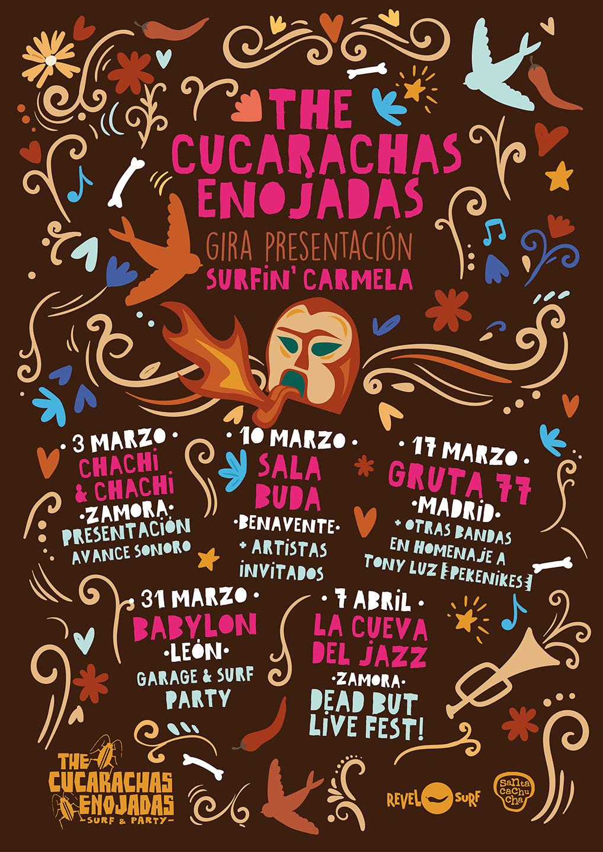 The Cucaracas Enojadas