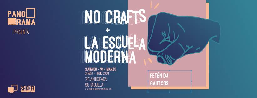 No Crafts + La Escuela Moderna