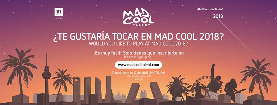 Concurso Mad Cool Festival 2018