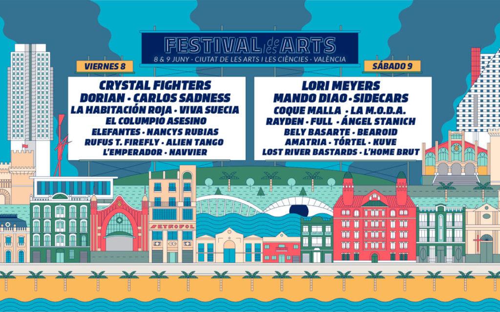 Festival de les Arts: concurso de bandas a 200 dB