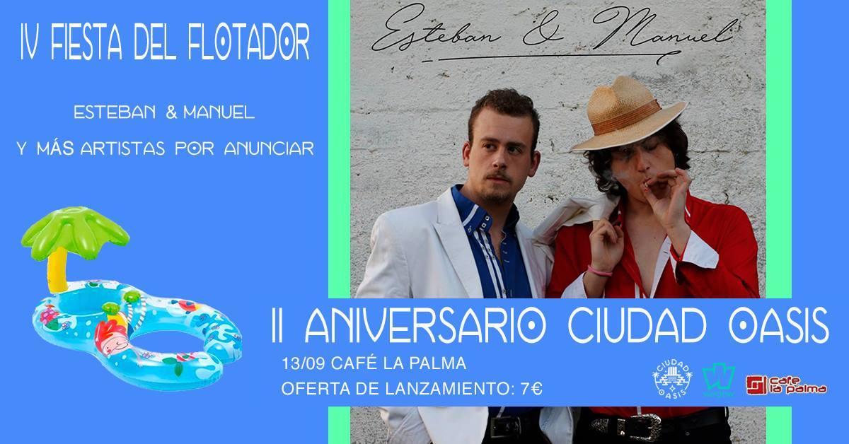 Fiesta del Flotador: Esteban & Manuel