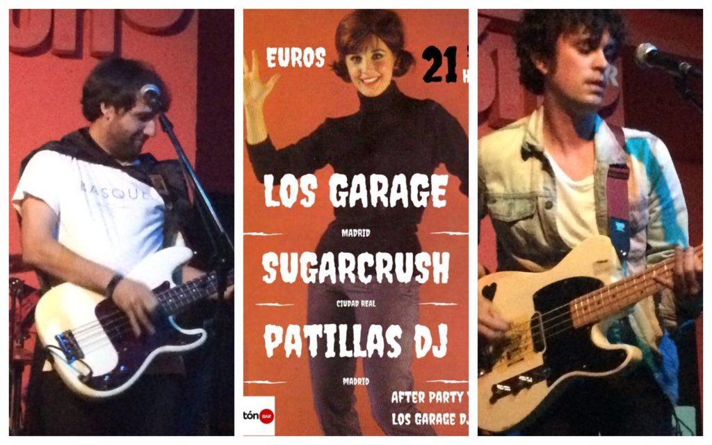 Los Garage + Sugarcrush en el Fotomatón Bar