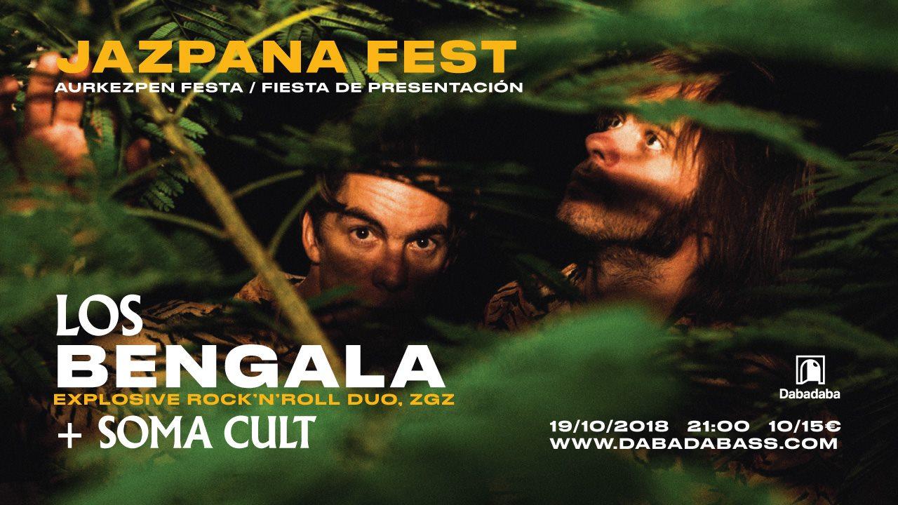 Conciertos: Los Bengala + Soma Cult