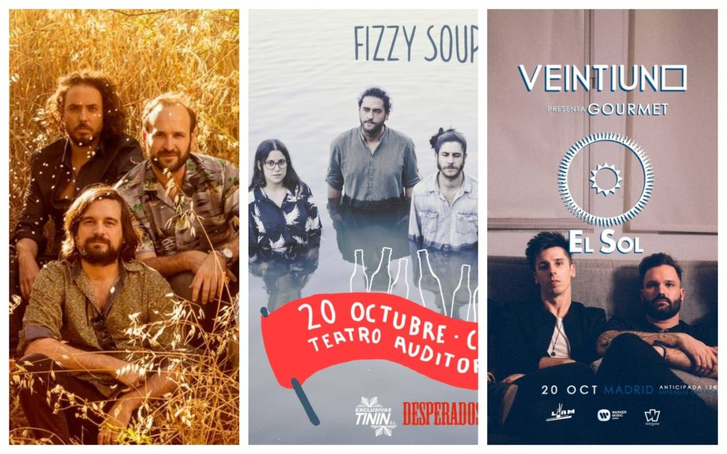 Conciertos imperdibles: Salto, Veintiuno, Gente Terrible...