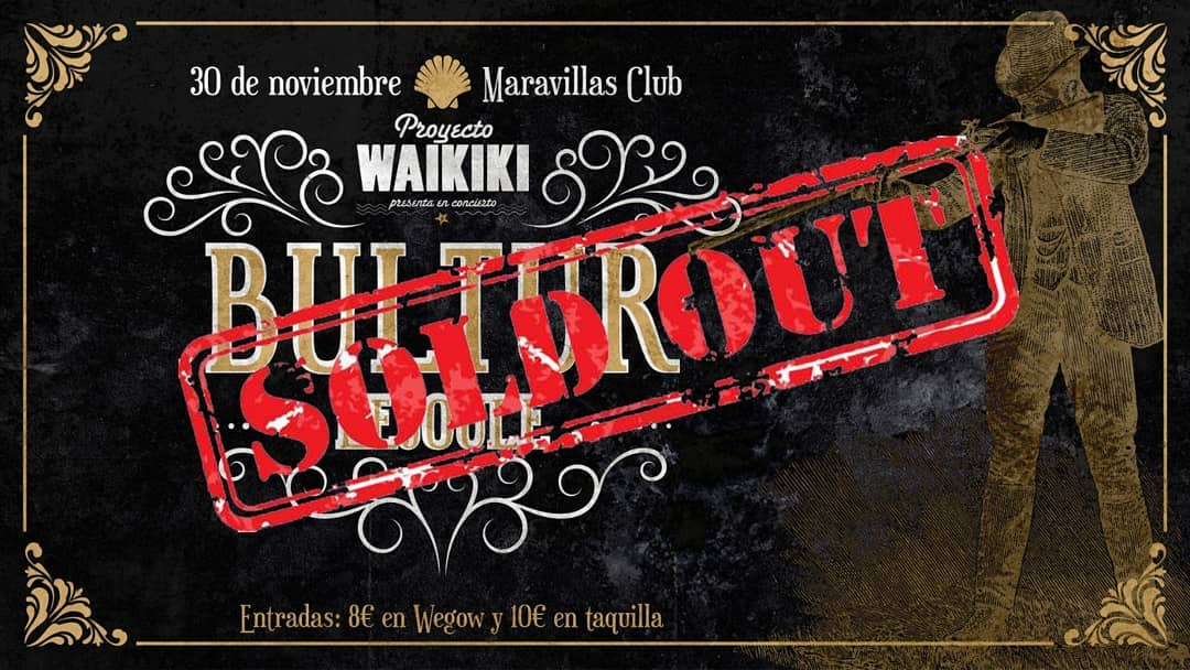 Bultur + Lejoule: sold out