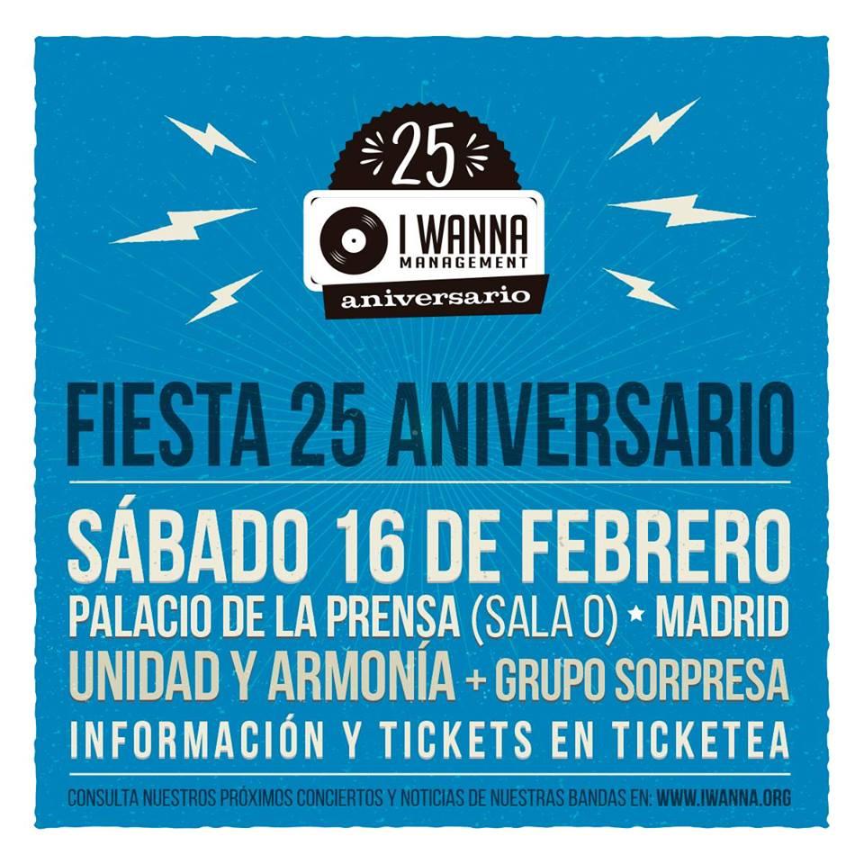 Fiesta 25 aniversario I Wanna