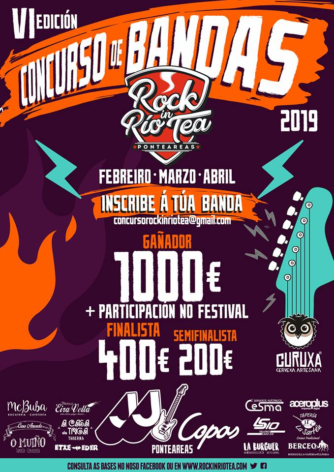 Rock in Río Tea - concurso de bandas 2019