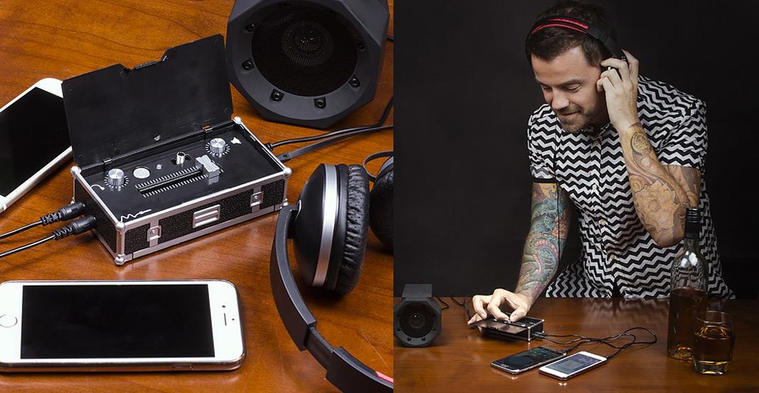 Mini mesa de mezclas para DJ - Regalos originales músicos