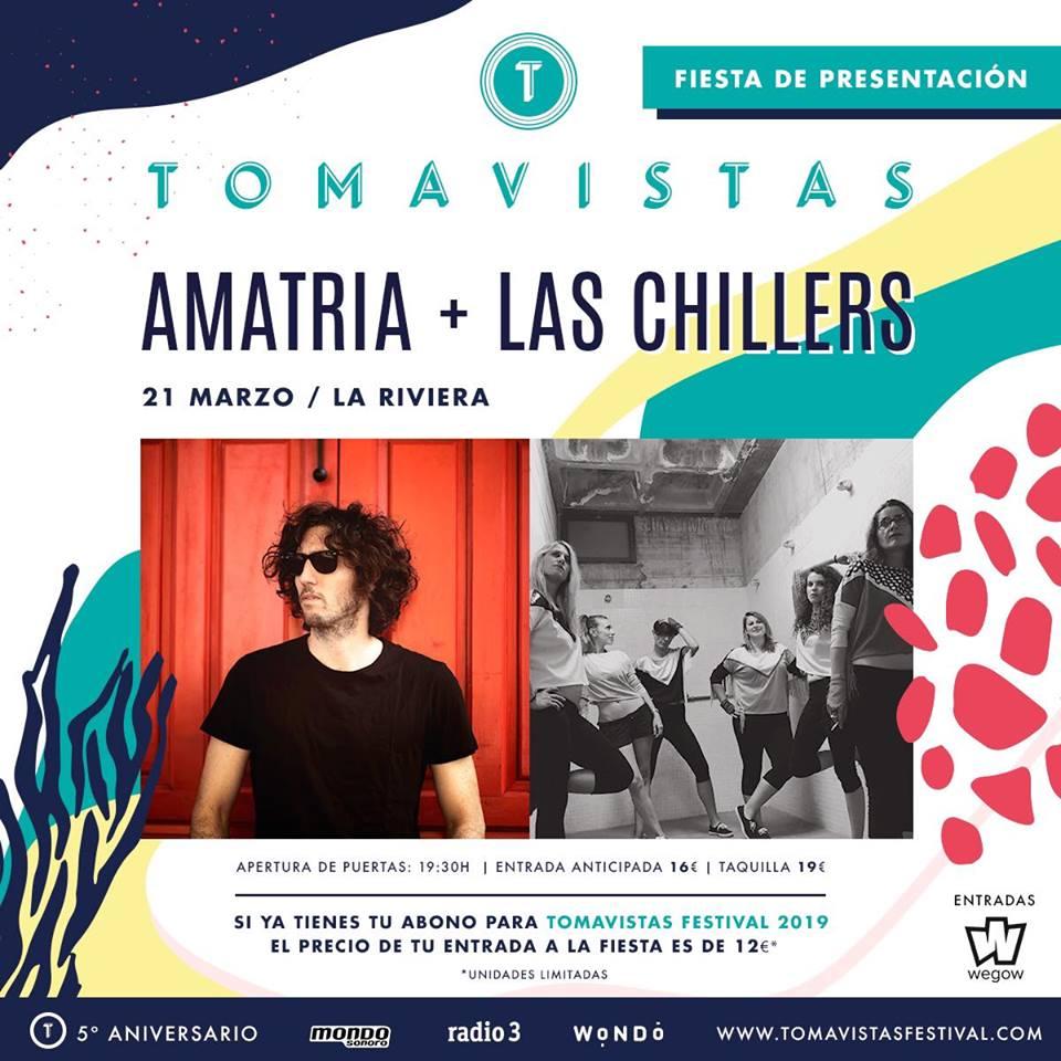 Amatria + Las Chillers