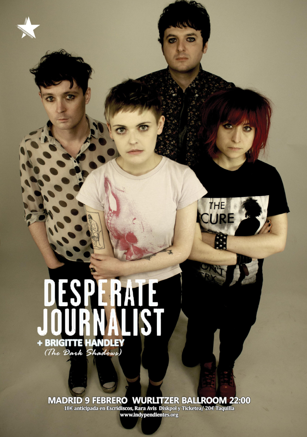 Desperate Journalist + Brigitte Handley