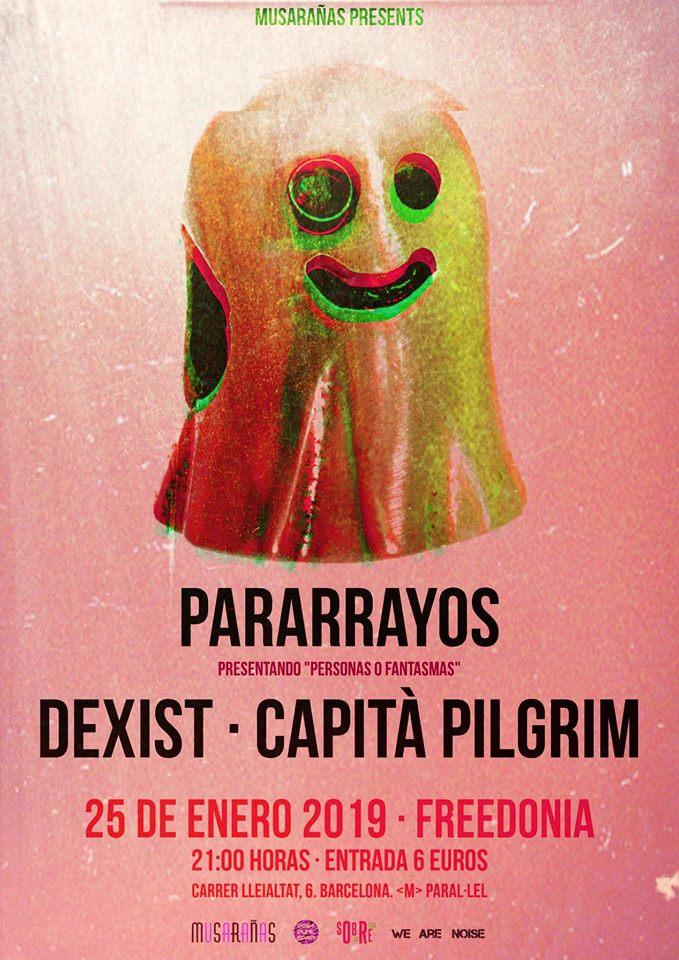 Pararrayos + Dexist + Capità Pilgrim