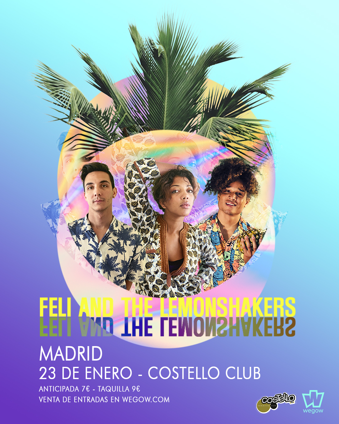 Feli and the LemonShakers - Costello Club