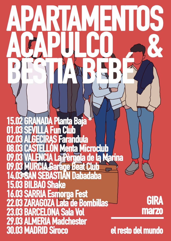 Apartamentos Acapulco + Bestia Bebé