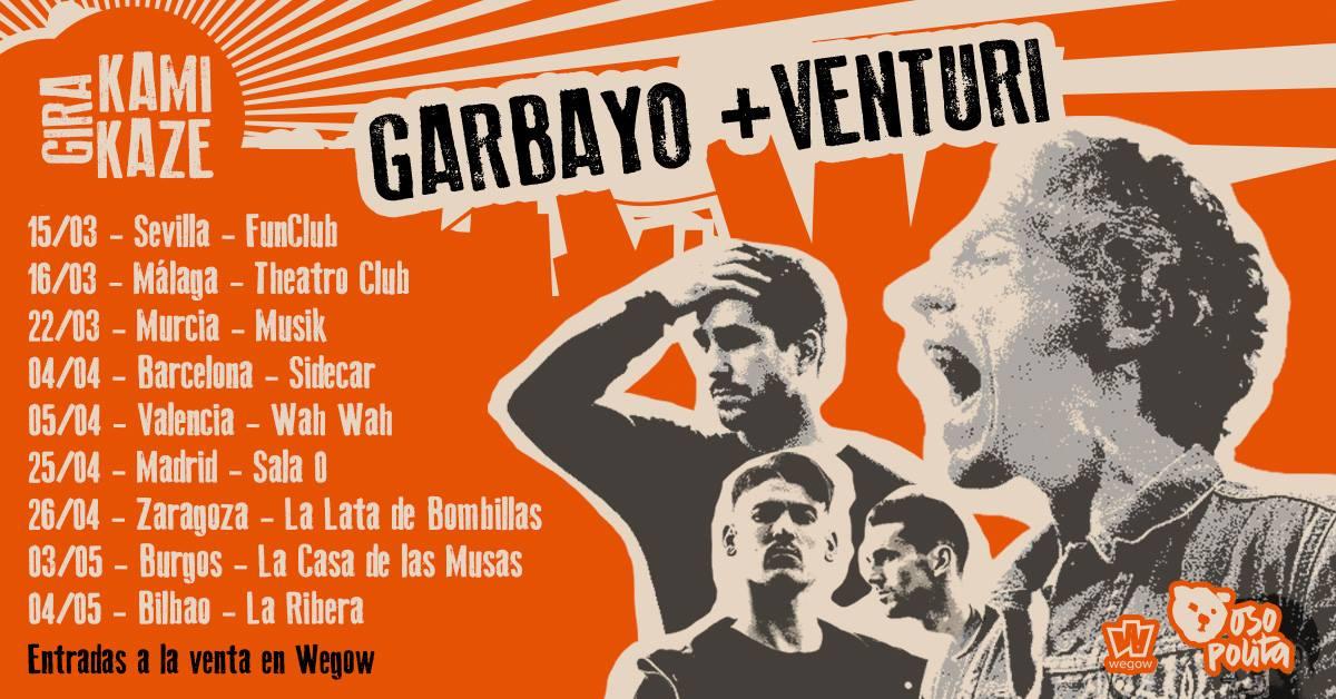Gira Kamikaze - Garbayo + Venturi