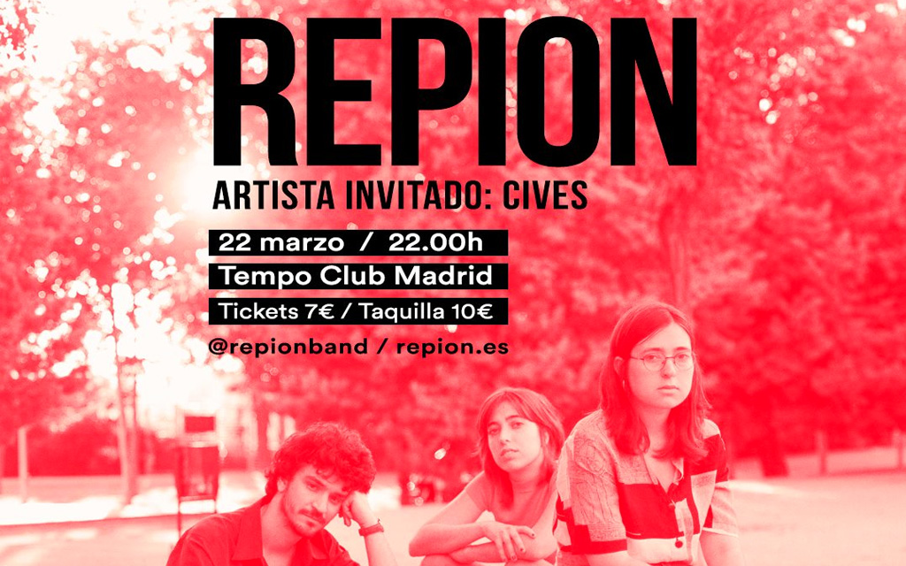 Repion + Cives en el Tempo Club