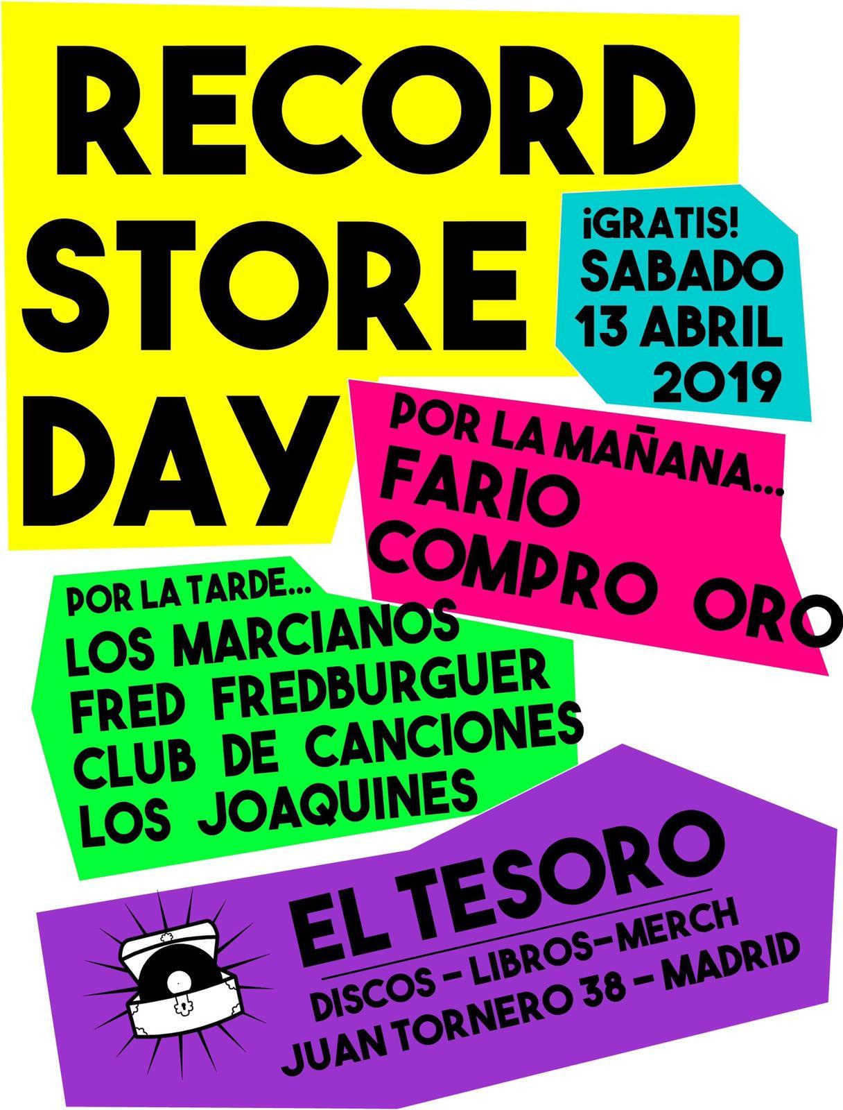 Record Store Day - Discos El Tesoro