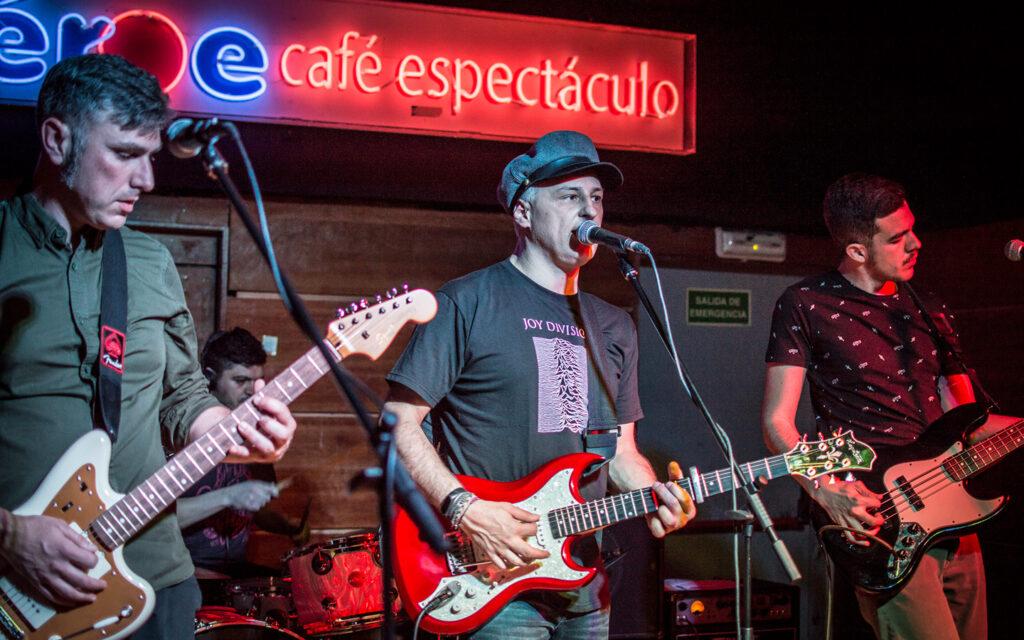 Los Marcianos + Good Bye Lenin en Héroe Café Espectáculo