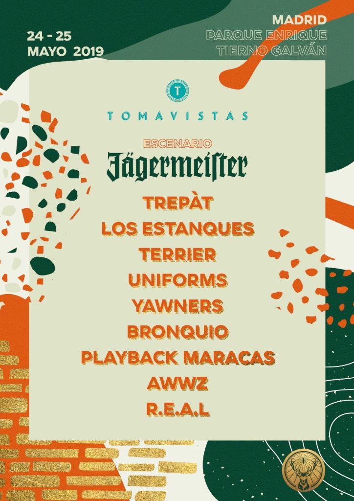 Tomavistas 2019 - escenario Jägermeister