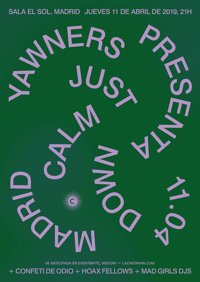 Yawners + Confeti de Odio + Hoax Fellows