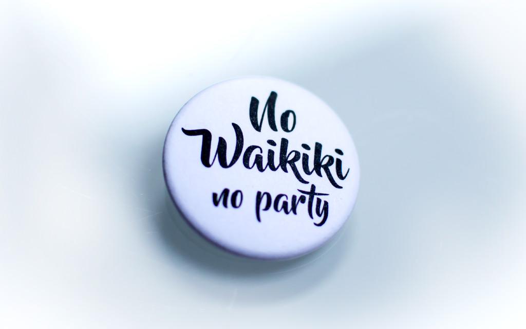 Chapa blanca Proyecto Waikiki
