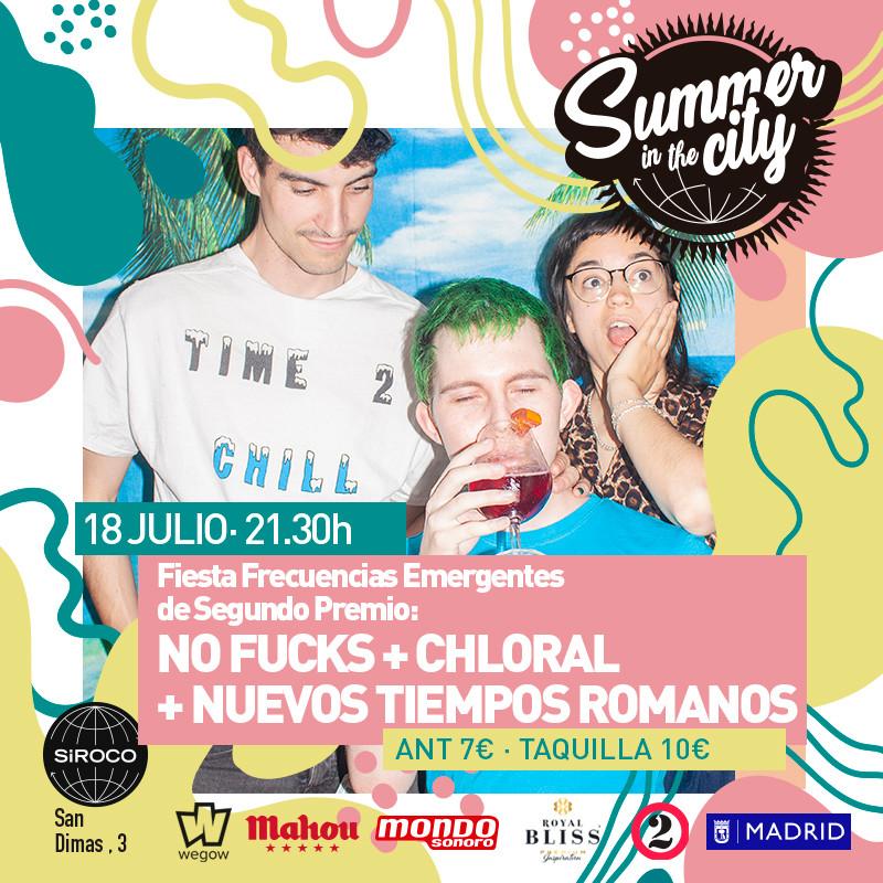Summer in the City: No Fucks