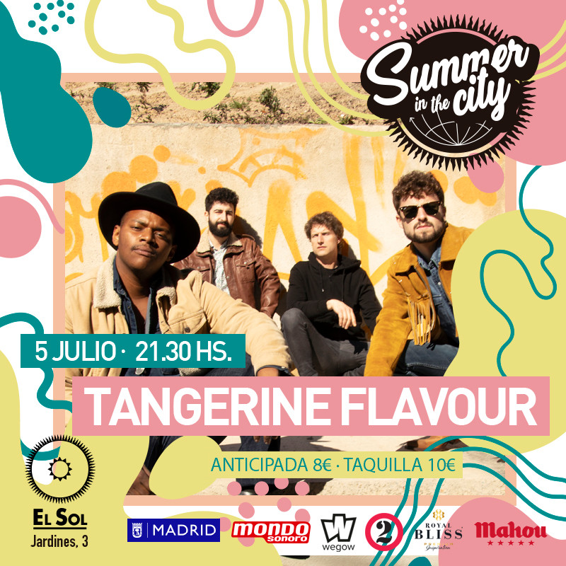 Summer in the City - Tangerine Flavour