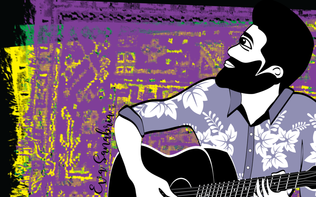 Alfombrario pop: cantante folk