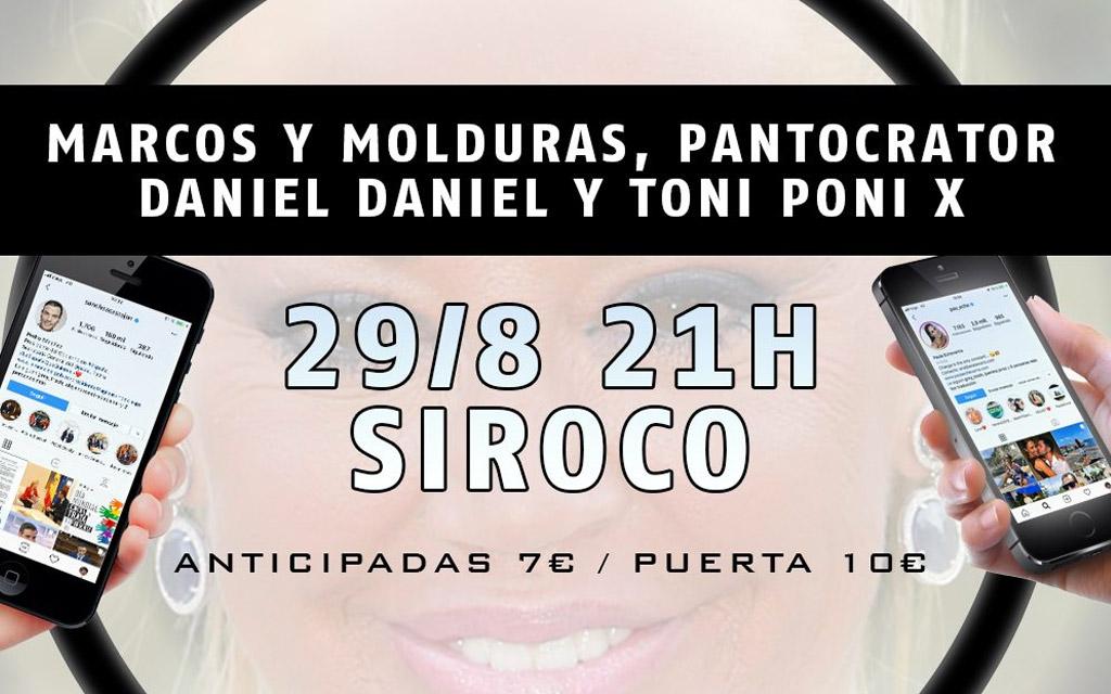 Summer in the City: Marcos y Molduras, Pantocrator, Daniel Daniel y Toni Poni X