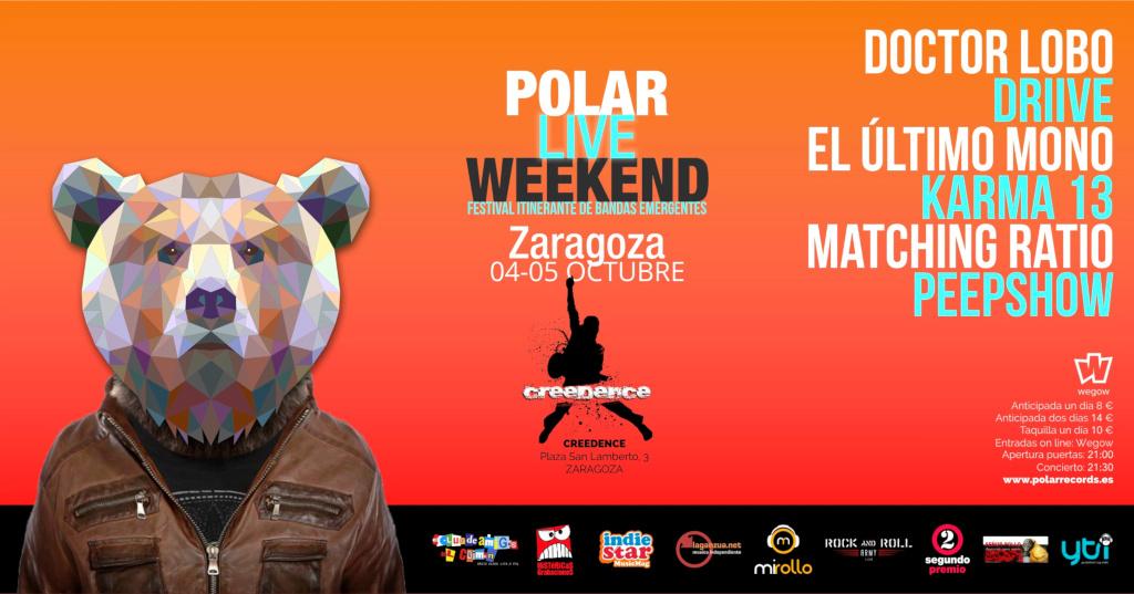 Polar Live Weekend 2019: cartel Zaragoza