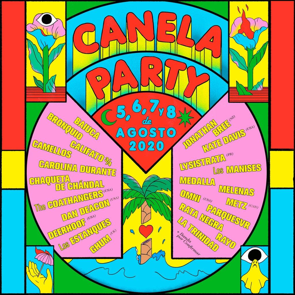 Canela Party 2020 - cartel