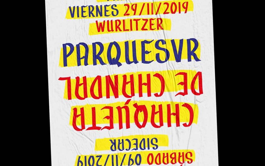 Parquesvr + Chaqueta de Chándal en Wurlitzer Ballroom