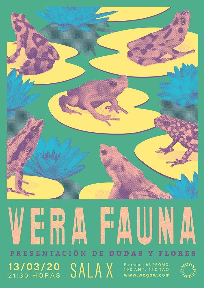 Vera Fauna en Sala X - Cartel: Ezequiel Barranco