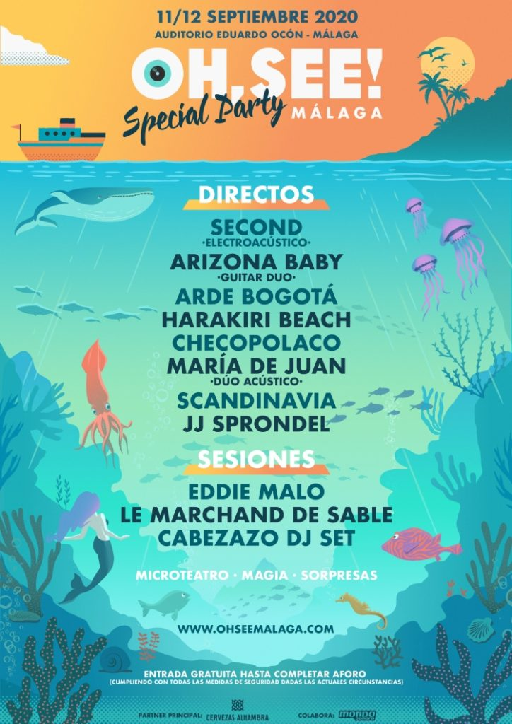 Oh, See! Malaga Special Party